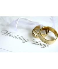 Свадьба, кольца, невеста, жених