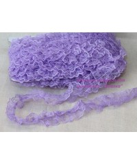 Кружево 001  фиолетовое    1 метр