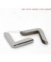 Уголки серебро маленький