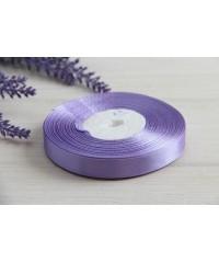 Лента атласная 1,2 см  ,    фиолетовая  21       РУЛОН