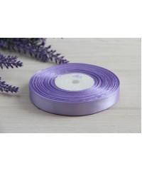 Лента атласная 1,2 см  ,   светло фиолетовая  90       РУЛОН