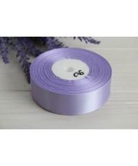 Лента атласная  2,5 см   Светло - фиолетовая      1 метр