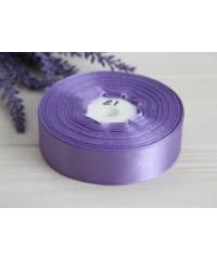 Лента атласная  2,5 см   фиолетовая      1 метр