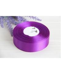 Лента атласная  2,5 см   Темно   - фиолетовая      1 метр