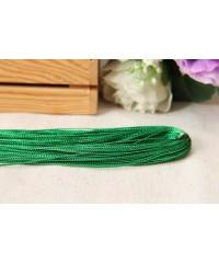 Шнур люрексовый    ,    зеленый    1      метр